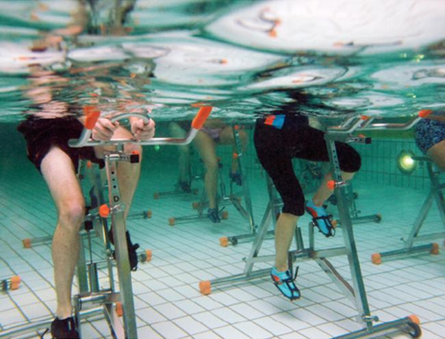 aquaspinning Hydrorider parte 2: Posiciones